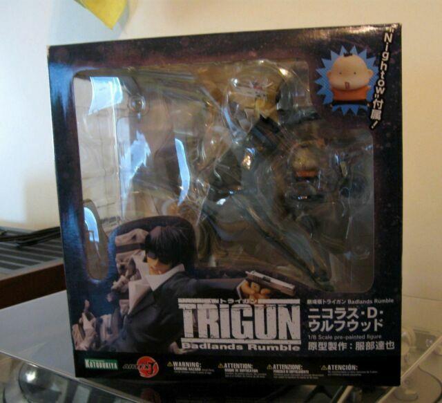 Kotobukiya Trigun Badlands Rumble Nicholas D Wolfwood Artfx J Statue For Sale Online Ebay
