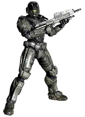 NEW Halo Reach  Noble Six Play Arts Kai Action Figure by Square Enix