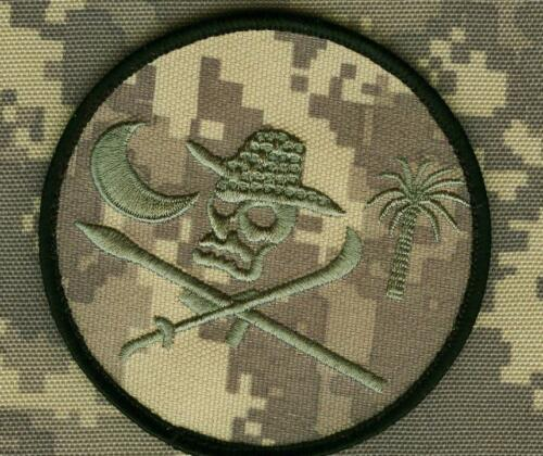 CALICO JACK SKULL CROSS SWORDS SPECIAL WARFARE SFG ACU DIGITAL burdock PATCH
