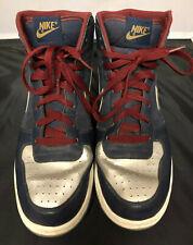 4cee01ba0e9 item 2 Nike 336608-401 Big Nike High Retro Navy Silver Red Shoes Men s Size  13 -Nike 336608-401 Big Nike High Retro Navy Silver Red Shoes Men s Size 13