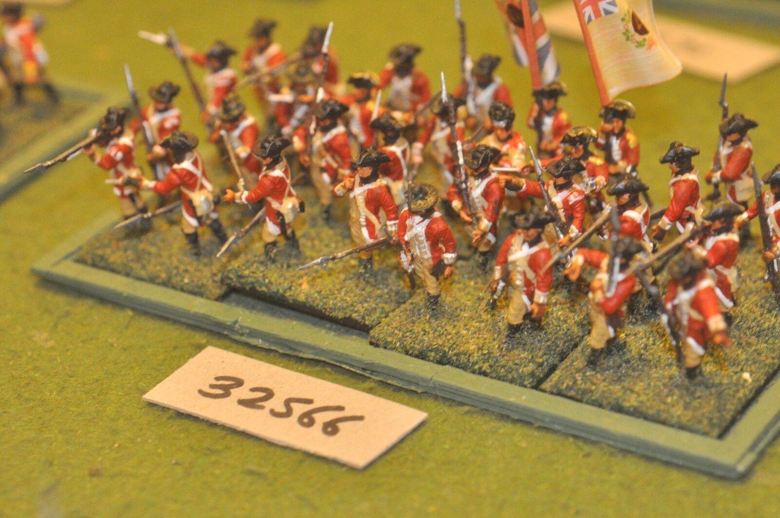 25mm AWI   british - regt. (plastic) 32 figures - inf (32566)