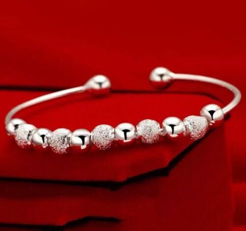 Silver glitter torq bangle bracelet age 10 wedding birthday christmas 619