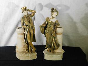 Bernard Bloch Antique Porcelain Figures Designed Theodore Schoop