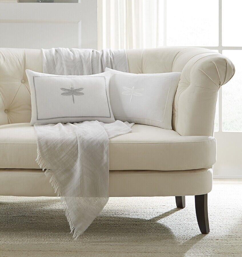 Sferra Alato Decorative Pillow - White White