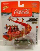 1967 '67 Plymouth Gtx Hardtop Coke Coca-cola Holiday Ornaments 2005 Diecast Rare