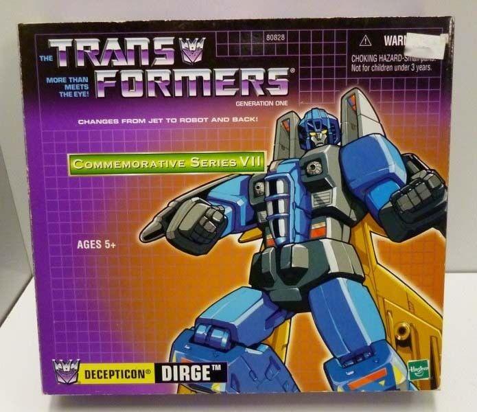 Hasbro Transformers G1 Reissue CS VII  Dirge MISB xmas gift  Garanzia del prezzo al 100%