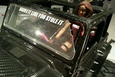 1/10 Scale Accessory DRIVE IT LIKE YOU STOLE IT  Decal rc crawler scx10 tf2