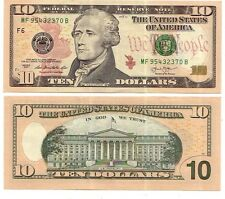 USA  Stati Uniti    $ 10 2013   FDS UNC Code F Atlanta   pick new  rif 4141