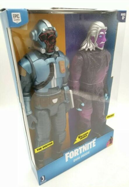 Fortnite Victory Series Duo Mode The Visitor & Galaxy Action Figures. 🎄🎁🎄BNIB