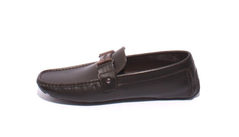 ROBERTO SERPENTINI 1001a 1001a SERPENTINI marrone Pelle Driver Moccasins Loafers 43 / US 10 97be0a