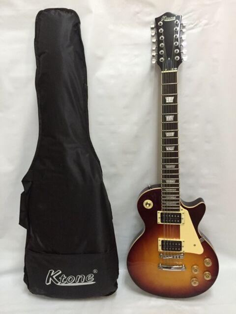 12 string electric guitar cherryburst gig bag for sale online ebay. Black Bedroom Furniture Sets. Home Design Ideas