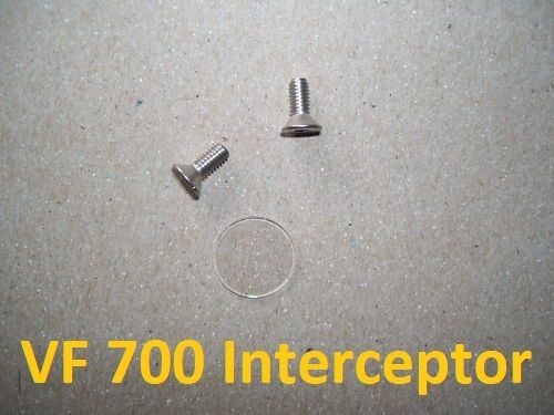 84-85 Honda VF700F Interceptor Master Cylinder Sight Glass Lens Brake or Clutch