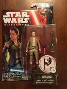 STAR WARS HASBRO Classic Rey Resistance /& Lightsaber figure Loose NEW