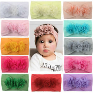 Baby-Girl-Child-Big-Bow-Hairband-Newborn-Toddler-Hair-Band-Stretch-Knot-Headband