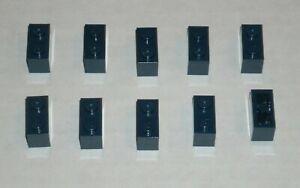 LEGO-NEW-1x2-Dark-Blue-Brick-10x-4249891-Brick-3004