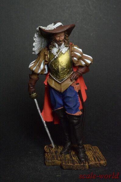 Dose Soldat Figur Spanische Edelmann 17th Century 75mm