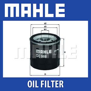 Mahle-Oil-Filter-OC988-Fits-Toyota-Auris-Yaris-Genuine-Part