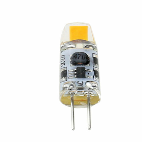 Dimmable G4 AC//DC 12V Silicone Crystal LED Bulb Light 3W 6W COB Lamp High Power