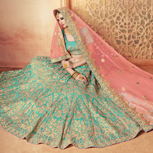 Indian Pakistani Bridal Lehenga Designer Bollywood Choli Wedding lengha Dupatta