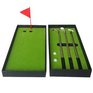 New-Mini-Golf-Club-Putter-Ball-Pen-Golfers-Gift-Box-Set-Desktop-Decor-For-S-B7R3