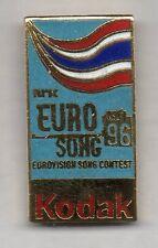 Nice and rare European kodak pin - Eurovision Song Contest NRK media pin