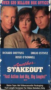 Another-Stakeout-VHS-Full-Length-Screener-Copy-Dreyfuss-Estevez-Rosie-PG-13