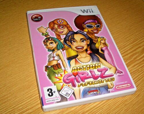 1 von 1 - Action Girlz Racing (Nintendo Wii, 2008, DVD-Box)