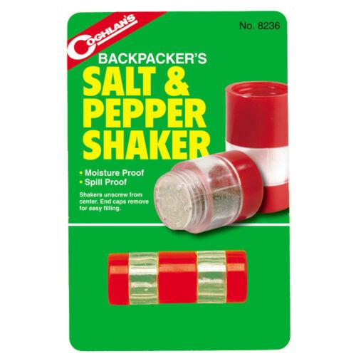 Mini Personal Travel Salt and Pepper Shaker Set Car Boat Camping Portable Travel