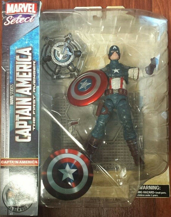 Marvel Select Movie Captain America The First Avenger Diamond Select RARE
