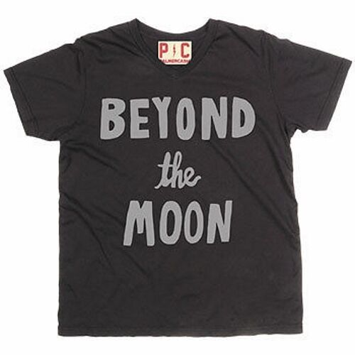 Beyond the Moon Junior Womens T-Shirt by Palmer Cash