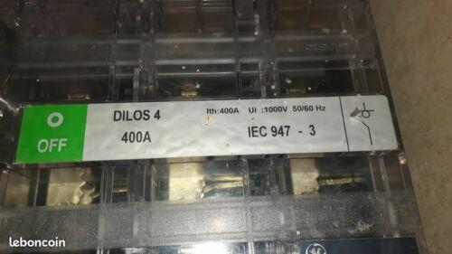 DILOS 4 INTERRUPTEUR 400A 3P N FIXE COUPURE VISIBLE
