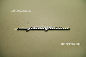 Hyundai Motors Genuine PININFARINA Tuning Emblem For Universal Vehicles