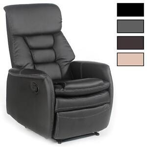Fernsehsessel Relaxsessel Sessel Mit Liegefunktion Kunstleder