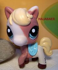 •♥• LITTLEST PET SHOP ♥ PFERD / PONY / HORSE / PALOMINO #1629 •♥• NEU & RAR