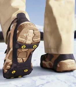 Anti Slip Snow Shoe Ice Grippers For Shoes Boots Safety Soles