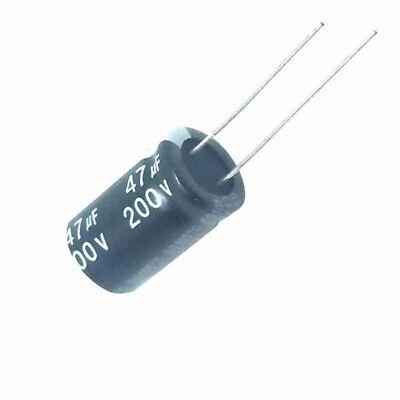 10PCS 160V 47uF 160Volt 47MFD 105C aluminum Electrolytic Capacitor 10×20mm