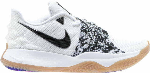 8353ae20d6f Frequently bought together. Nike Kyrie 4 Low Mens AO8979-100 White Black  Gum Basketball ...