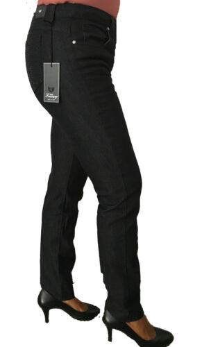 Cm Made Vita Fondo Blue Luxury In 17 Alta Donna Italy Mod Nero Jeans Up Push q170UwxUC