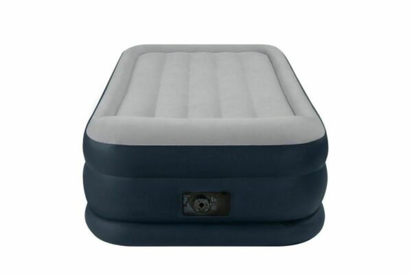 Intex 67731e Airbed With Built In Electric Pump Twin Size