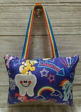 My little Pony Hasbro Handmade Tooth Fairy Pillow with tooth pocket. Rainbow