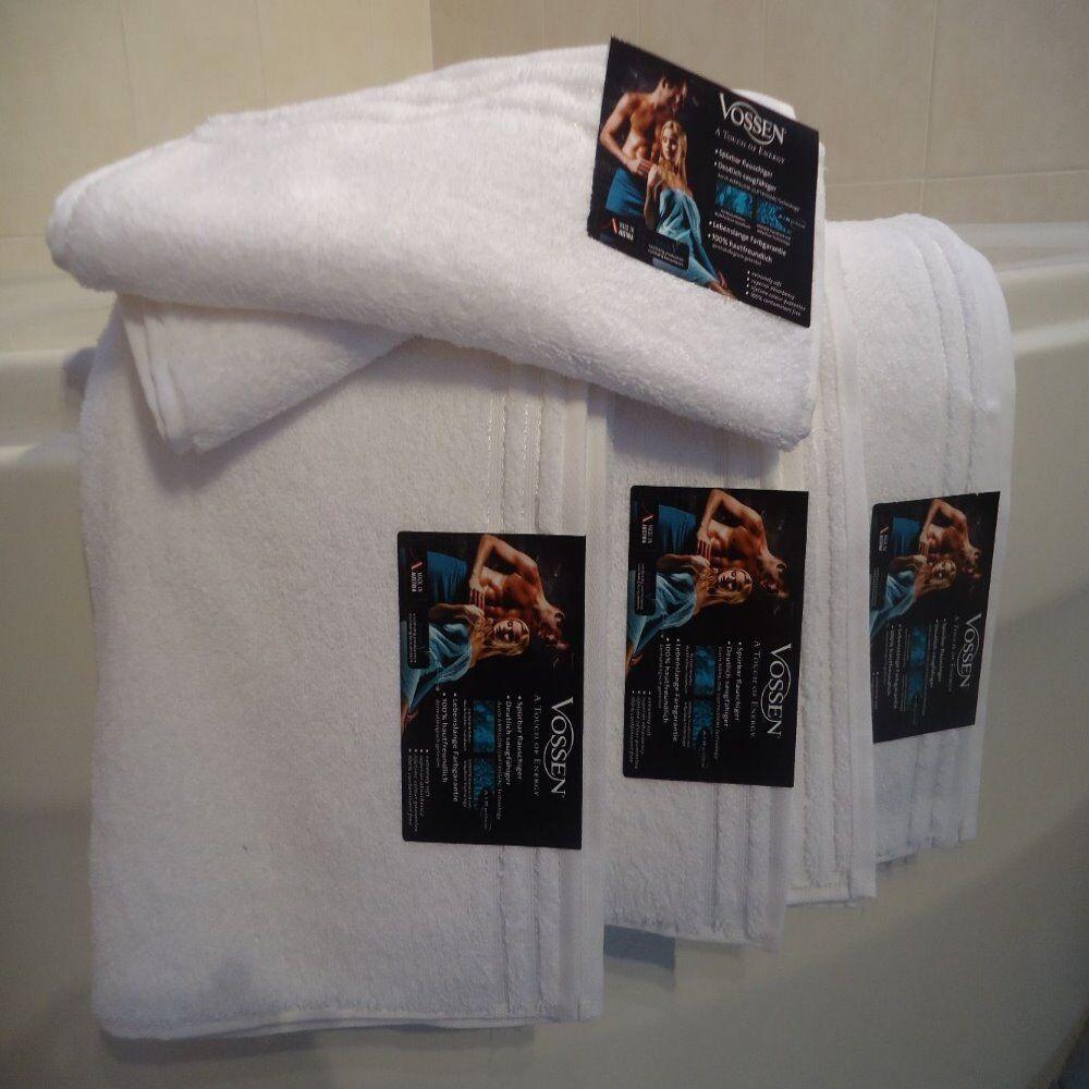 VOSSEN Calypso Feeling Handtuchset 1x Duschtuch 2x Handtuch + 3x GT statt
