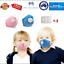 Adult-Kids-Anti-Air-Pollution-Face-Mask-Respirator-10-Filters-Washable-Reusable thumbnail 6