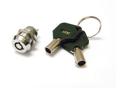 3PCS Key Ignition Switch 12MM ON/OFF Lock Switch Plastic Handle Phone Power lock