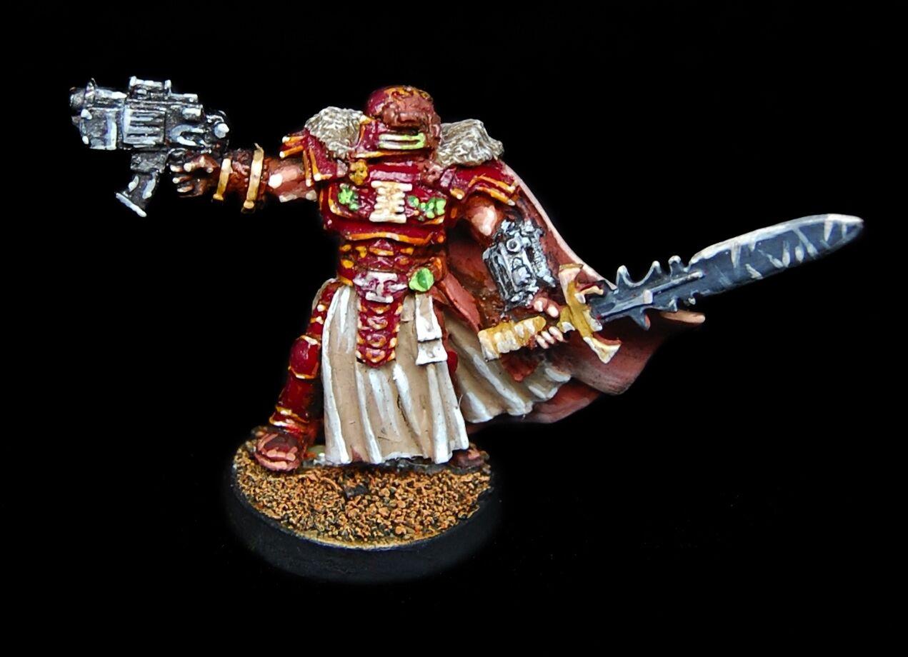 Colector de metal de Warhammer 40K daemonhunter inquisidor Power Espada pistola de perno