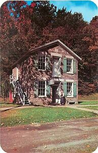 Printing-Office-Farmers-039-Museum-Cooperstown-New-York-NY-Chrome-Postcard