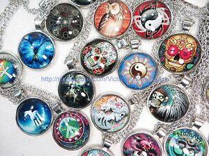 99 cents/p, 50  Necklaces wholesale Gothic Eyptian Boho Hippie jewelry lot