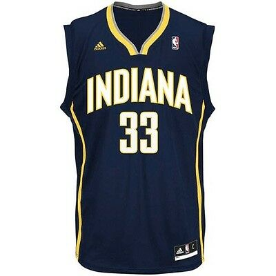 New Danny Granger # 33 Indiana Pacers Adidas Replica Blue Youth NBA Jersey