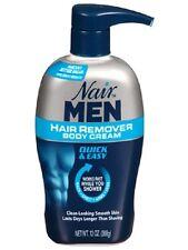 All New! Nair Men Hair Removal Body Cream, 13oz