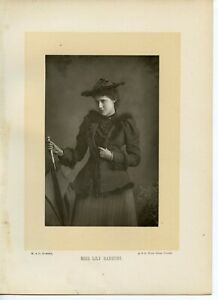 Vintage-Cabinet-Card-by-W-amp-D-Downey-Lily-Hanbury-English-stage-performer