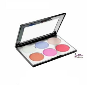 Sephora-HOLOGRAPHIC-Face-amp-Cheek-Palette-Highlight-Bronze-Blush-Matte-Pearl-NIB